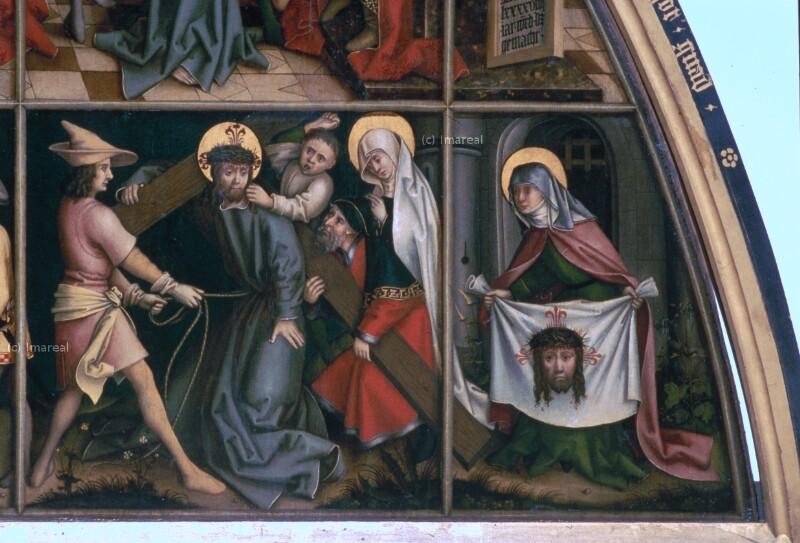 Kreuztragung Christi von Holbein Hans der Ältere