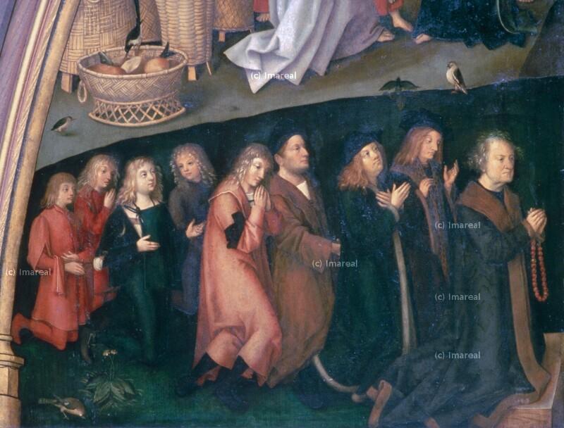 Stifter von Holbein Hans der Ältere
