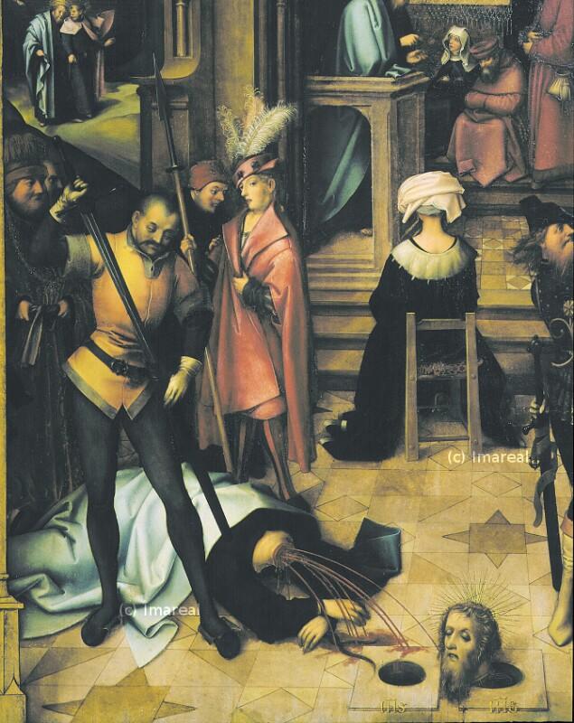 Enthauptung des Hl. Paulus von Holbein Hans der Ältere