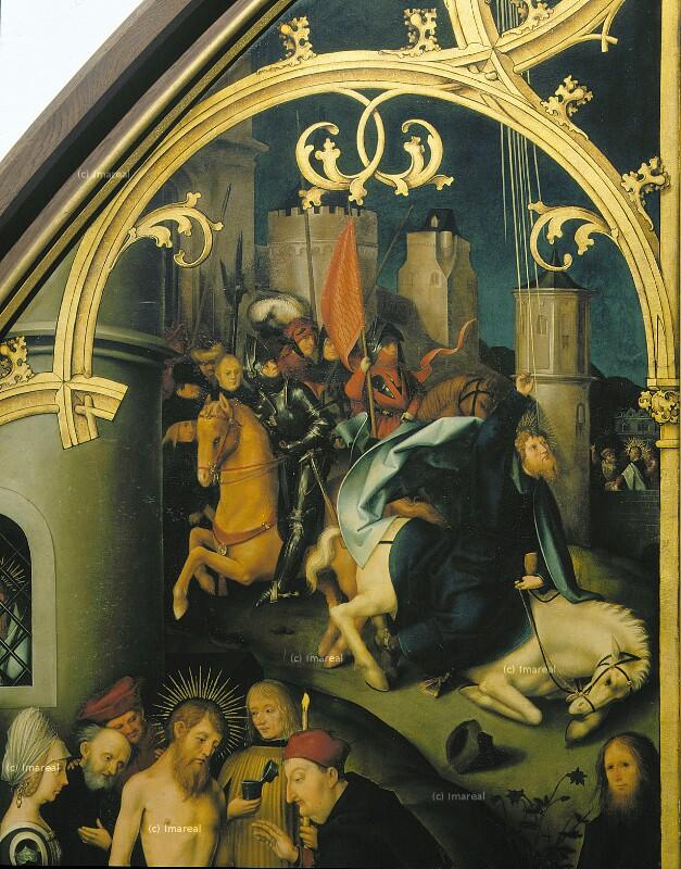 Bekehrung des Hl. Paulus von Holbein Hans der Ältere