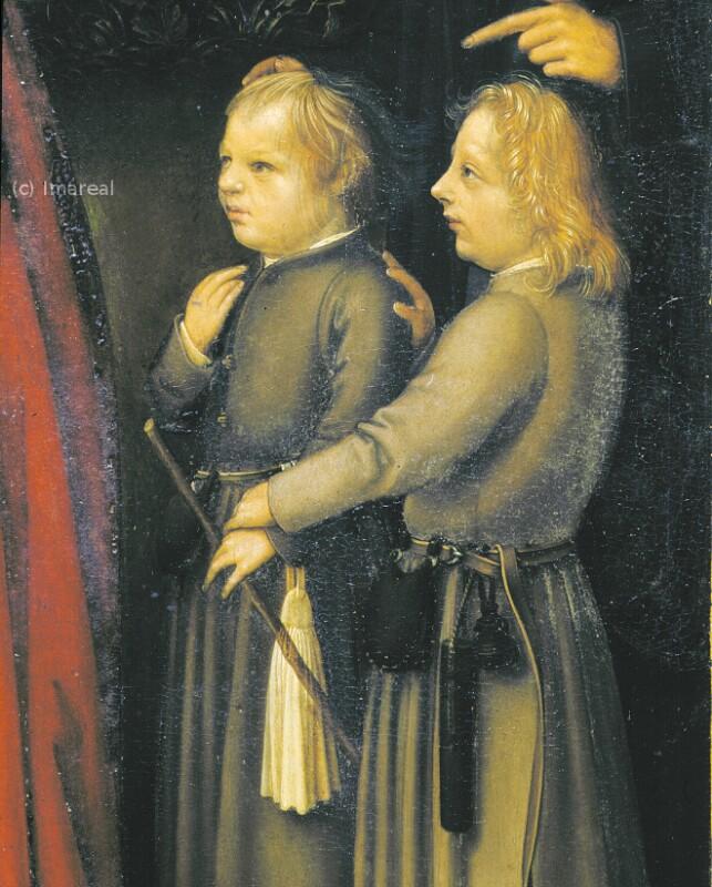 Hans Holbeins Söhne Hans und Ambrosius von Holbein Hans der Ältere