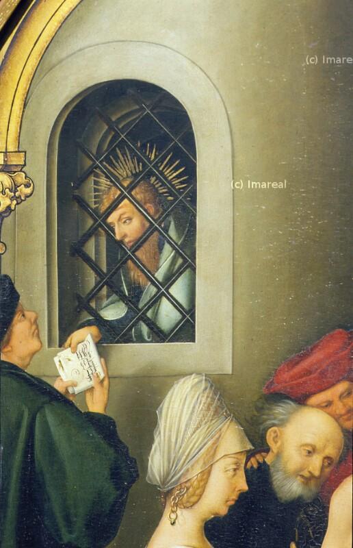Hl. Paulus im Kerker von Holbein Hans der Ältere