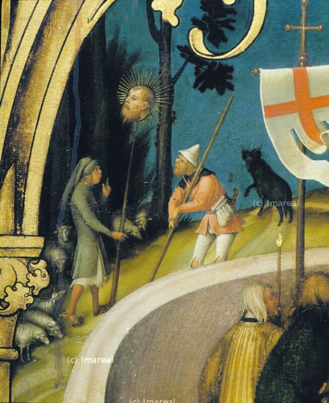 Auffindung des Hauptes des Hl. Paulus von Holbein Hans der Ältere