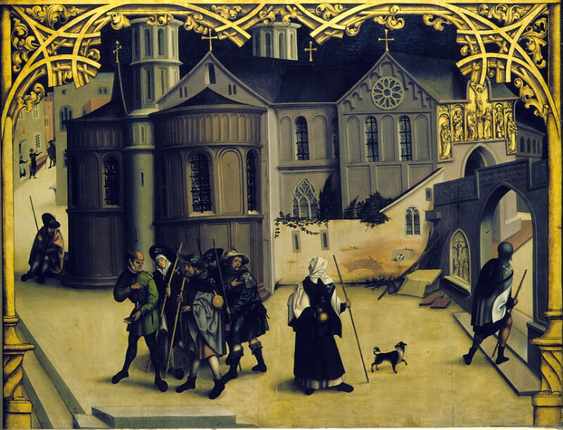 Santa Croce von Burgkmair Hans der Ältere