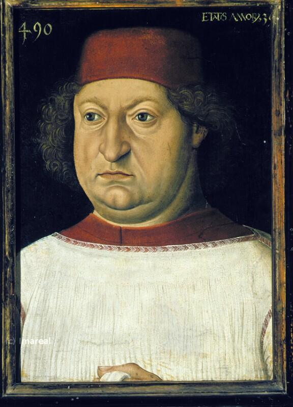 Porträt von Burgkmair Hans der Ältere