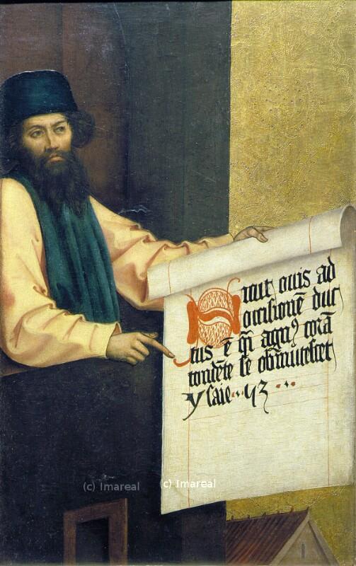 Jesaja von Strigel Bernhard