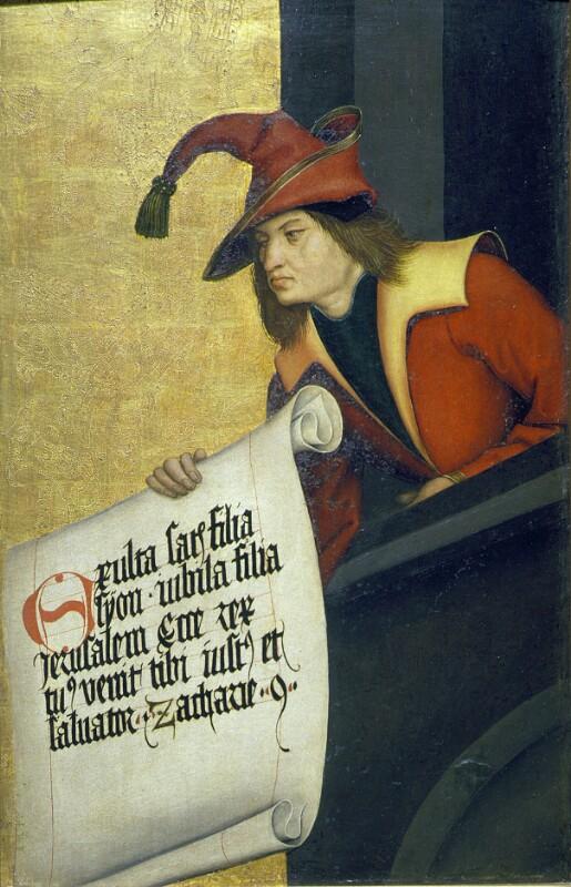 Sacharja von Strigel Bernhard