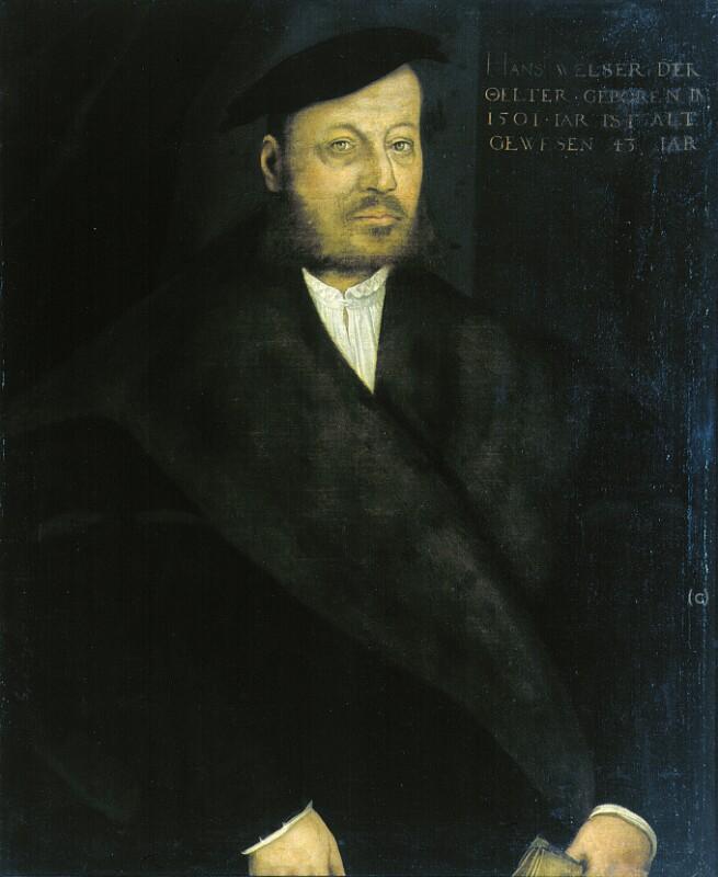 Porträt von Amberger Christoph-Umkreis