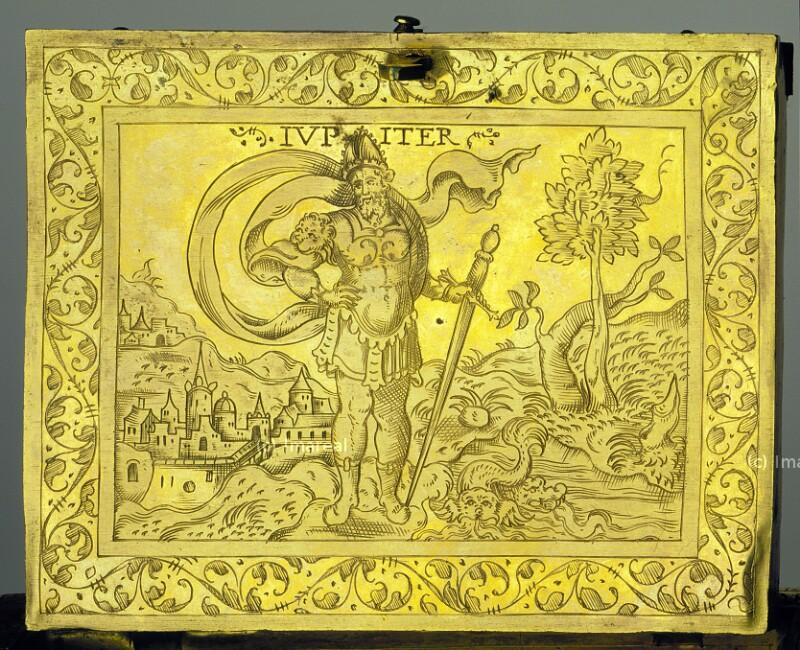 Jupiter von Solis Virgil-Vorlage