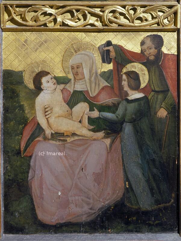 Hl. Anna Selbdritt von Cranach-Vorlage