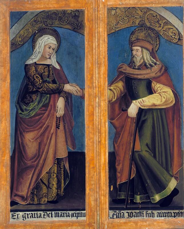 Hl. Anna von Cranach-Vorlage