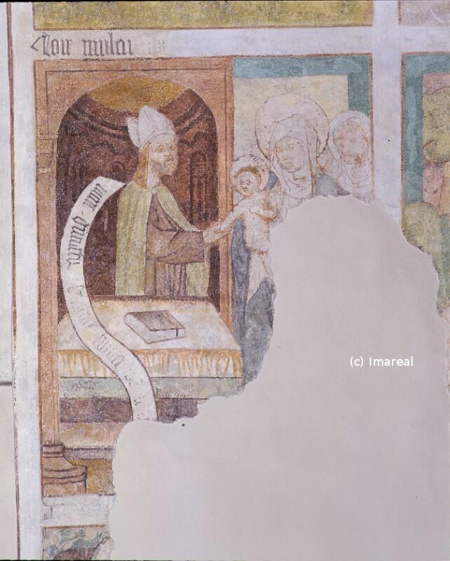 Darbringung Jesu im Tempel von Strigel Hans der Ältere