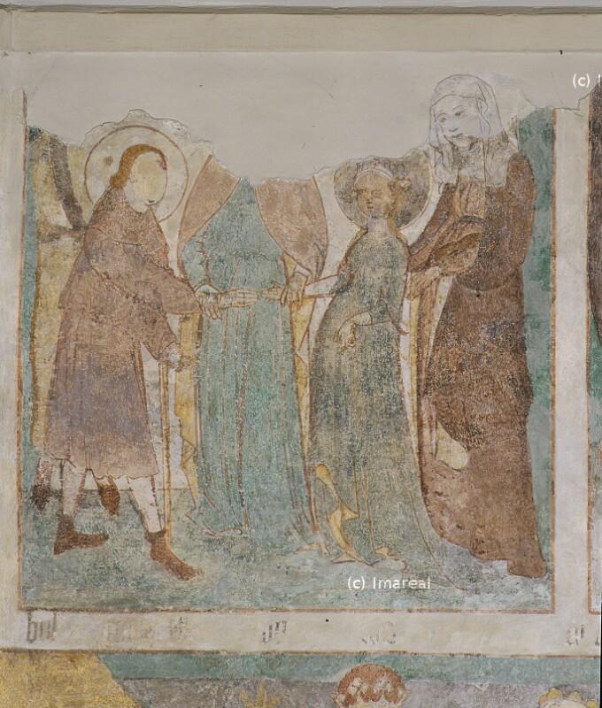 Vermählung Mariens von Strigel Hans der Ältere