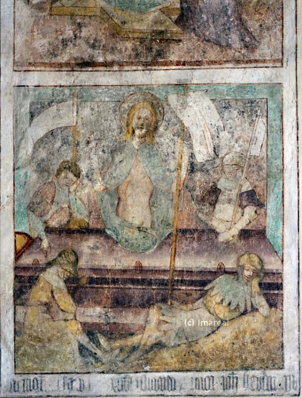 Auferstehung Christi von Strigel Hans der Ältere