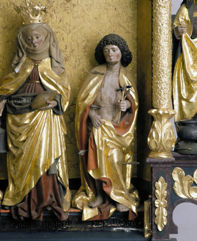 Hl. Sebastian von Meister des Imberger Altars