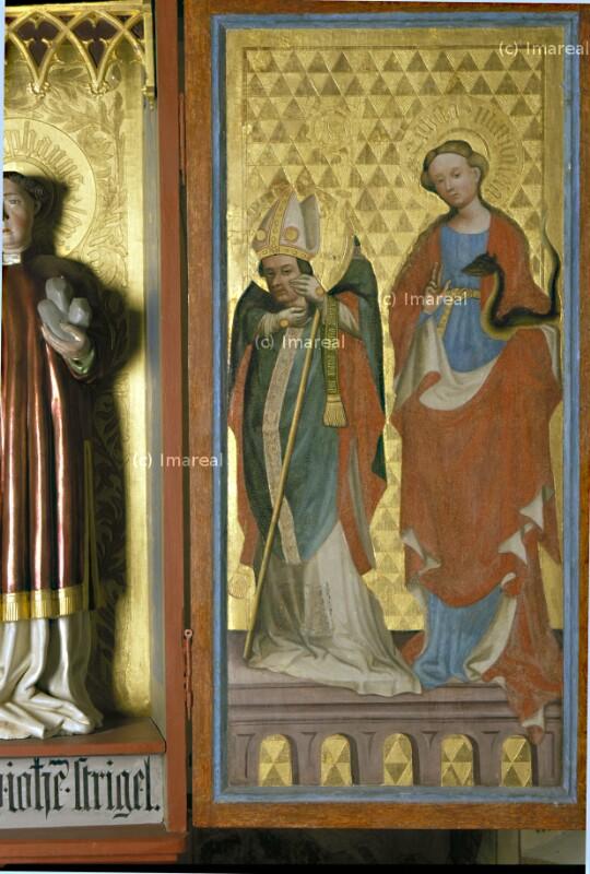Hl. Alban von Strigel Hans der Ältere