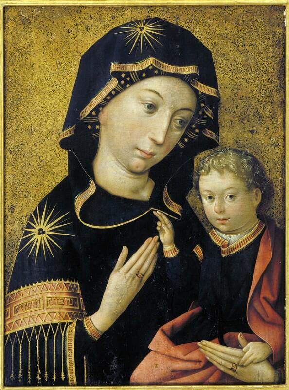 Hl. Maria mit Kind von Holbein Hans der Ältere