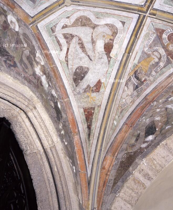 Evangelistensymbol Johannes von Strigel Hans der Ältere