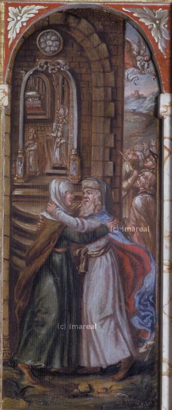 Begegnung an der goldenen Pforte von Heidelberger Thomas