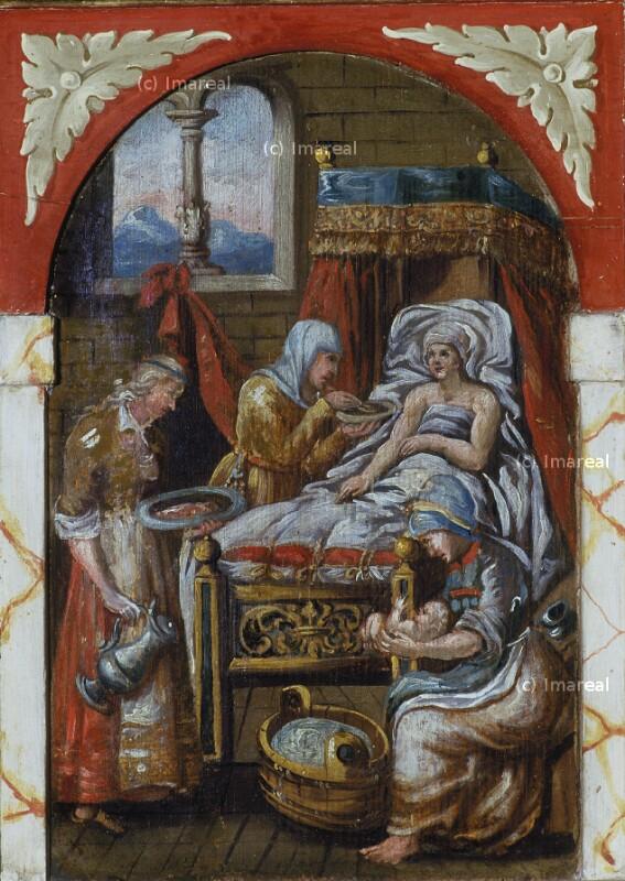 Geburt Mariens von Heidelberger Thomas