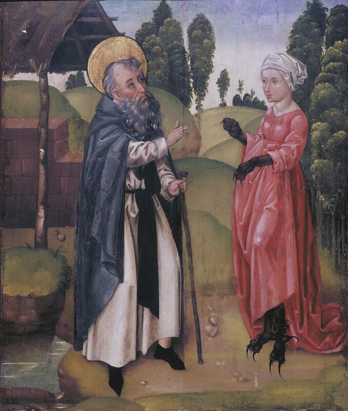 Versuchung des Hl. Antonius von Koler Joseph