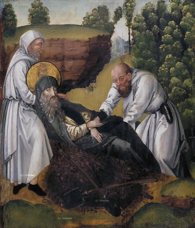 Tod des Hl. Antonius von Koler Joseph