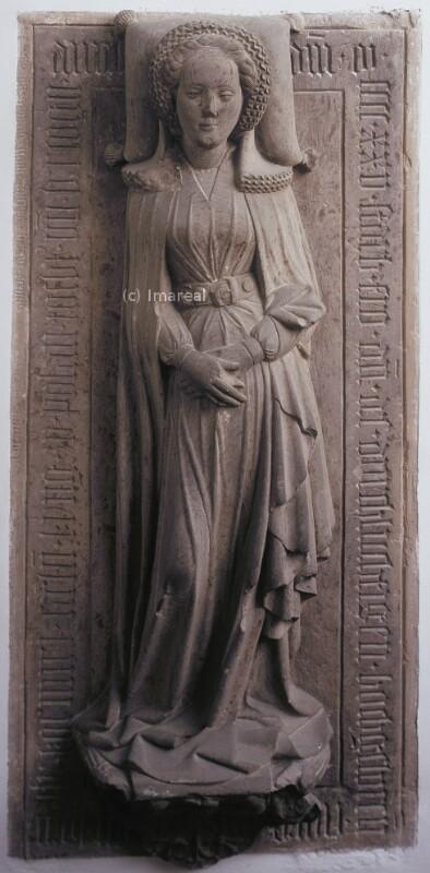 Grabfigur von Meister des Teck Doppelgrabmals
