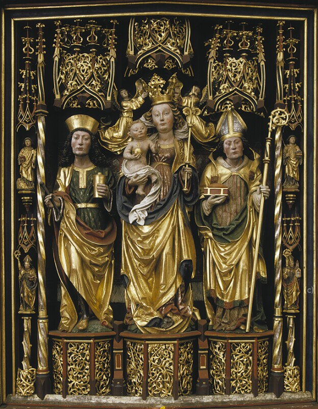 Hl. Maria mit Kind von Astl Lienhart