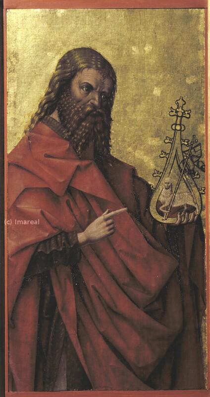 Hl. Johannes der Täufer von Frueauf-Umkreis