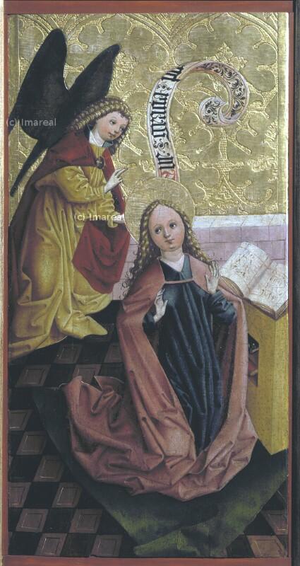 Verkündigung an Maria von Frueauf-Umkreis