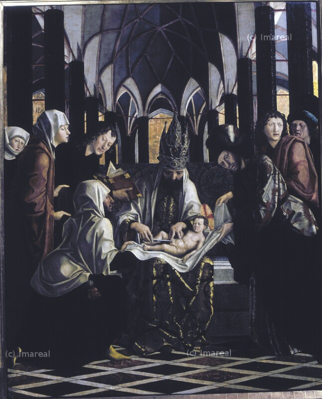 Beschneidung Christi von Pacher Michael