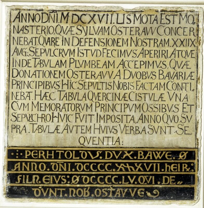 Inschrift von