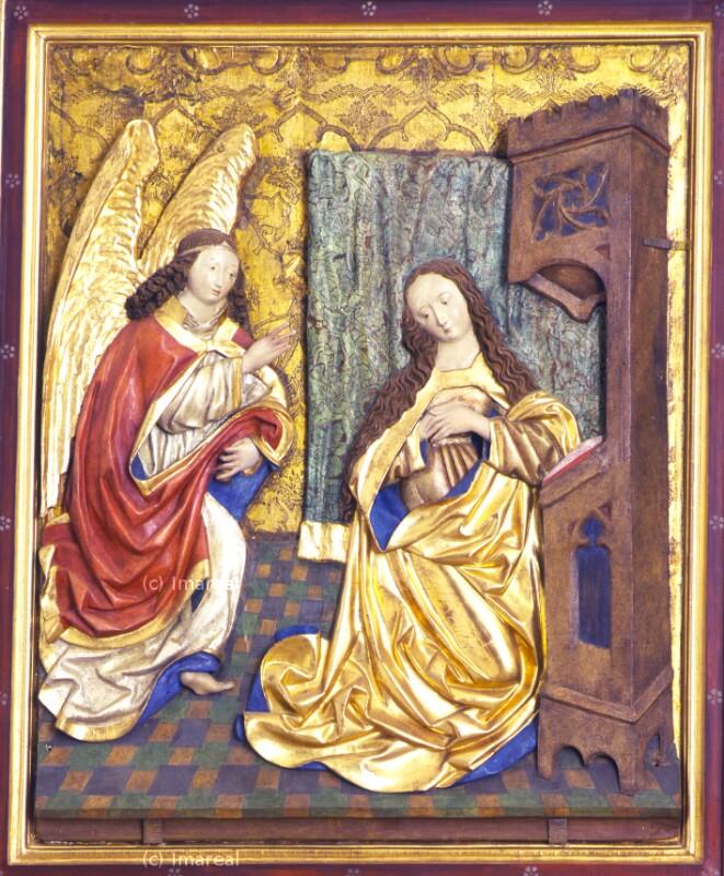 Verkündigung an Maria von Helmschrott-Umkreis