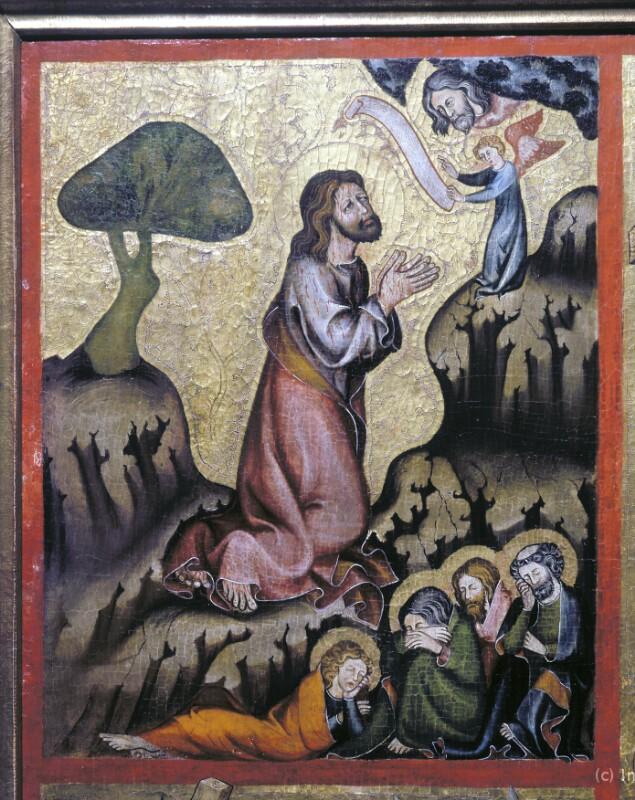 Gebet Jesu am Ölberg von Meister der Rückseite des Verduner Altars-Umkreis