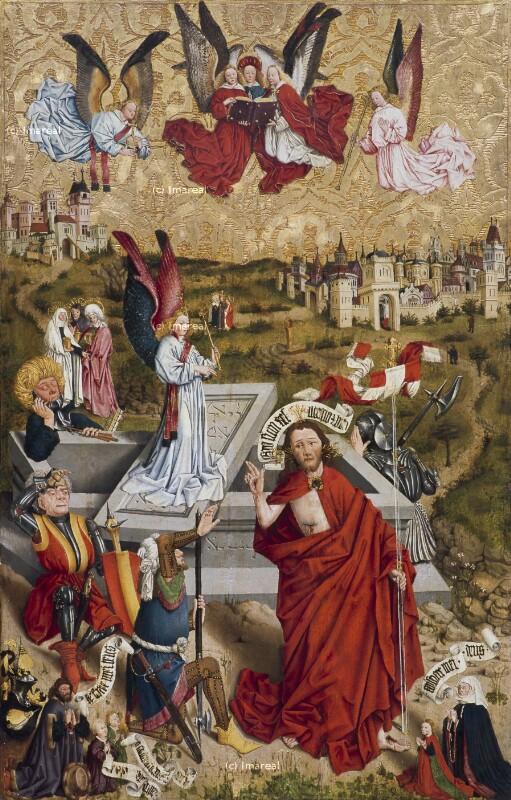 Auferstehung Christi von Meister des Albrechtsaltars-Nachfolge