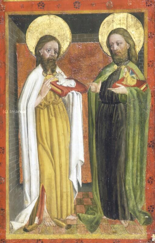 Hl. Johannes der Täufer von Meister des Albrechtsaltars-Umkreis