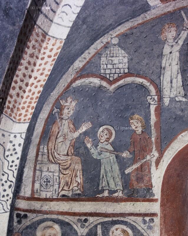 Hl. Vitus verweigert den Götzendienst von