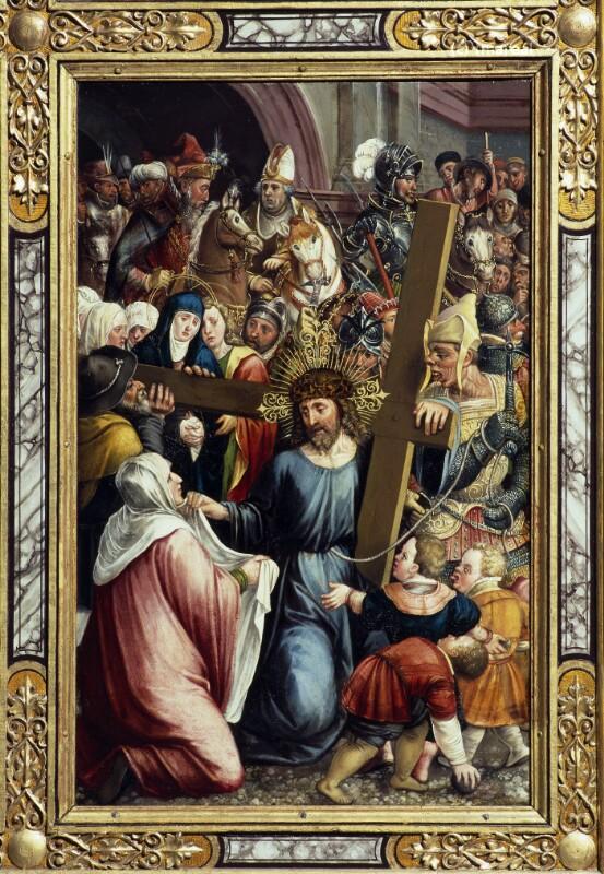 Kreuztragung Christi von Mielich Hans