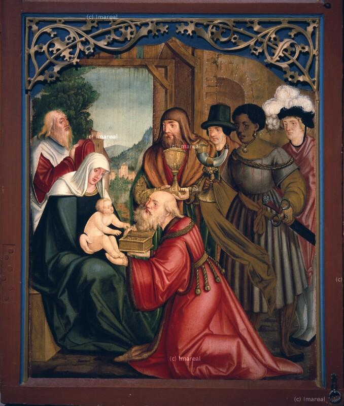 Anbetung der Könige von Schäufelein Hans