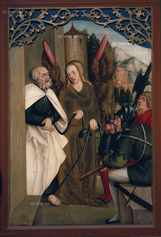 Befreiung des Hl. Petrus aus dem Gefängnis von Schäufelein Hans