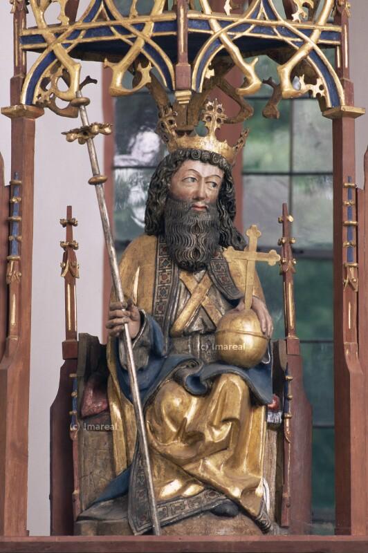 Gottvater thronend