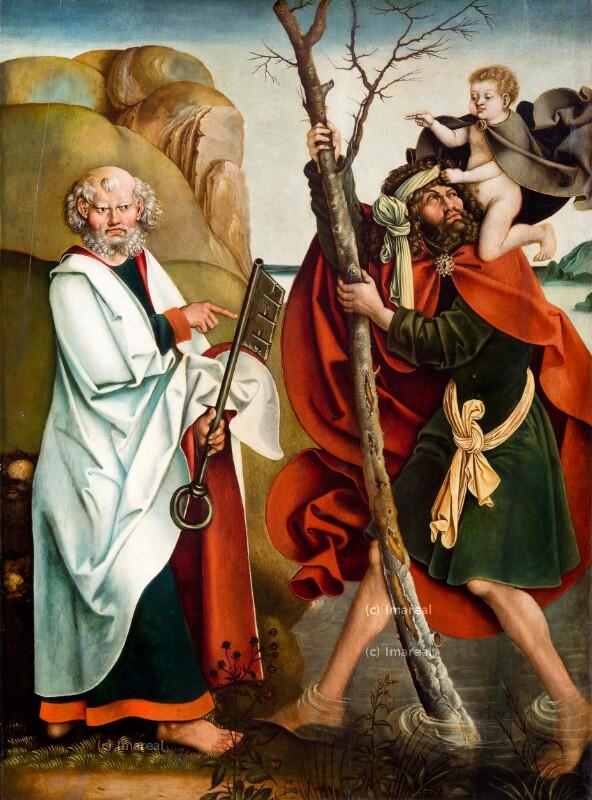 Hl. Petrus von Breu Jörg der Ältere